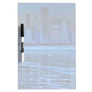 City of broad shoulders and lake Michigan Dry-Erase Board