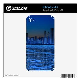 City of broad shoulders and lake Michigan iPhone 4S Skins
