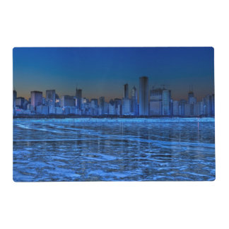 City of broad shoulders and lake Michigan Placemat
