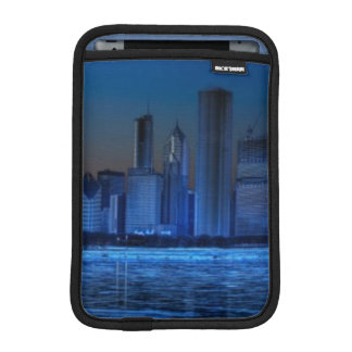 City of broad shoulders and lake Michigan Sleeve For iPad Mini
