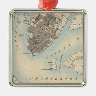 City of Charleston, South Carolina Metal Ornament