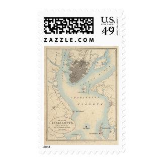City of Charleston South Carolina Postage Stamp