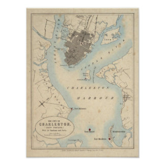 City of Charleston, South Carolina Poster
