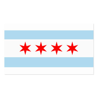 City of Chicago Flag Double-Sided Standard Business Cards (Pack Of 100)