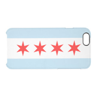 City of Chicago Flag Uncommon Clearly™ Deflector iPhone 6 Case