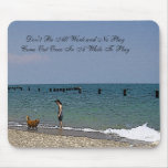 City of Chicago & Lake Michigan Sketch Mouse Pad