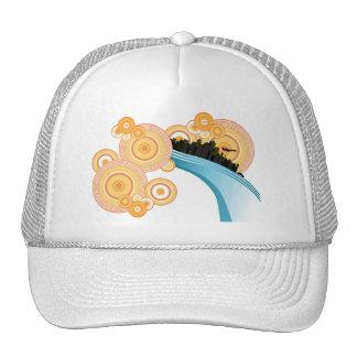 City Of Circles Mesh Hat