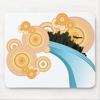 City Of Circles Mouse Pads