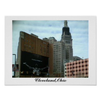 CITY OF CLEVELAND, OHIO poster