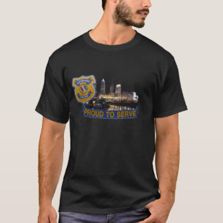 City of Cleveland Police Department Shirt. T-Shirt