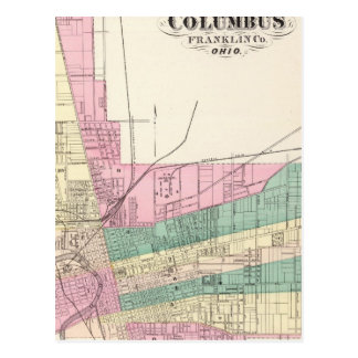 City of Columbus, Franklin County, Ohio Postcard