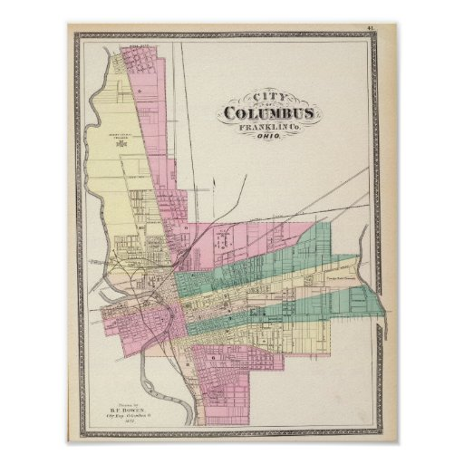 City of Columbus, Franklin County, Ohio Posters