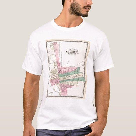City of Columbus, Franklin County, Ohio T-Shirt