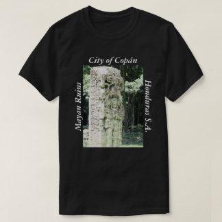 City of Copan Ancient Ruins Mayan Archeological T-Shirt
