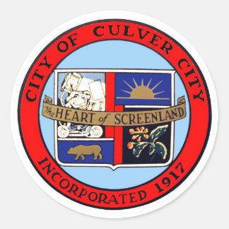City of Culver City California Official Sticker