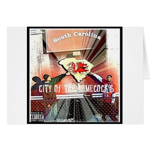 City Of Da Gamecocks Official Mixtape Card