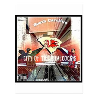 City Of Da Gamecocks Official Mixtape Post Cards
