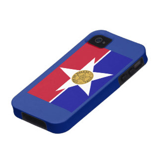 City Of Dallas Flag Case For The iPhone 4
