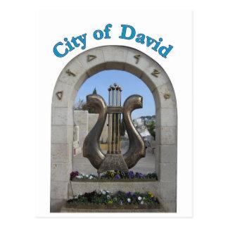 City of David in Jerusalem, Israel Postcard