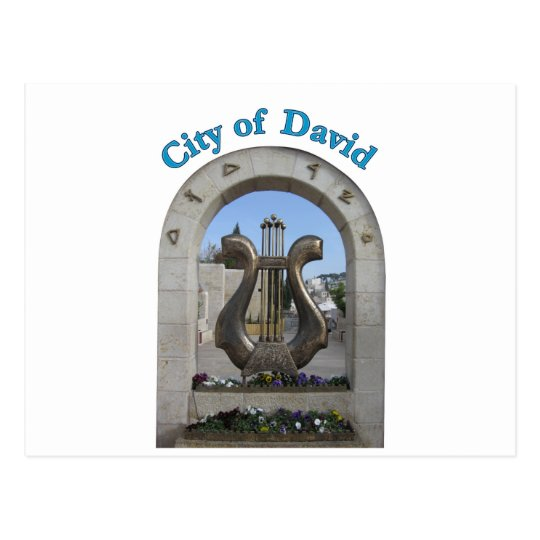 City of David in Jerusalem, Israel Postcard
