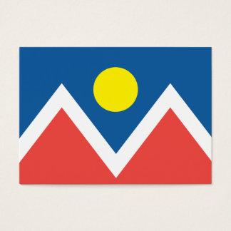 City of Denver flag Business Card