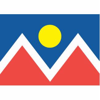 City of Denver flag Cut Outs