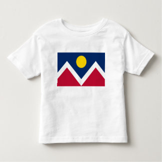 City of Denver Flag Toddler T-shirt