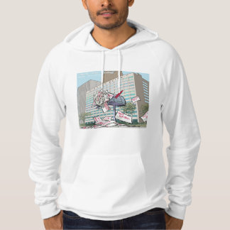 City Of Detroit Mailbox Funny Mens Hoodie