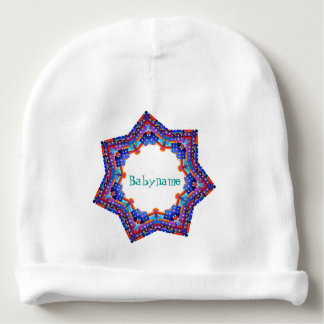 City of Dreams Star Mandala Personalized Baby Beanie