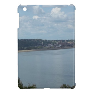 City of Dubuque Iowa on the Mississippi River iPad Mini Covers