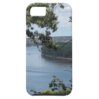 City of Dubuque, Iowa on the Mississippi River iPhone SE/5/5s Case