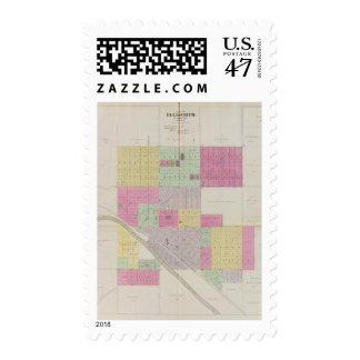City of Ellsworth, Ellsworth County, Kansas Postage
