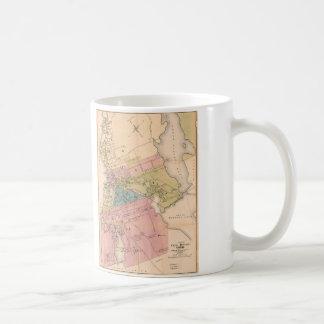 City of Fall River Massachusetts Map (1878) Coffee Mug