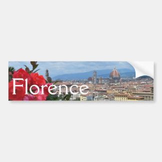 City of Florence, Italy Bumper Stickers