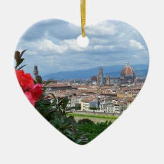 City of Florence, Italy Ceramic Ornament