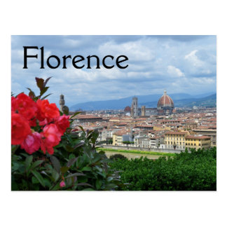 City of Florence, Italy Postcard