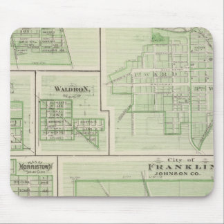 City of Franklin, Johnson Co with Shelbyville Mouse Pad