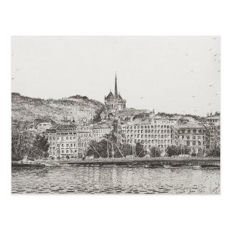City of Geneva 2011 Postcard