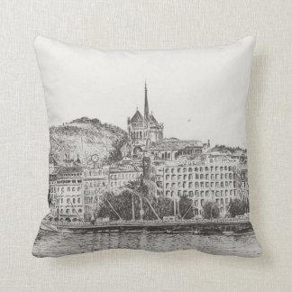 City of Geneva 2011 Throw Pillow