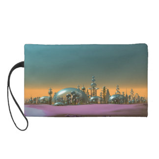 City of Glass Gold and Silver V1 Wristlet