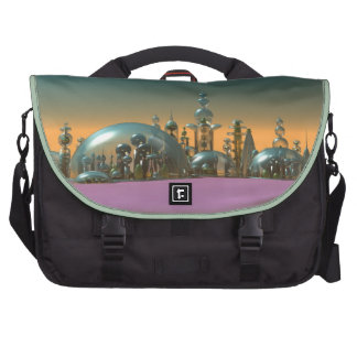 City of Glass Gold and Silver V1 Commuter Bag