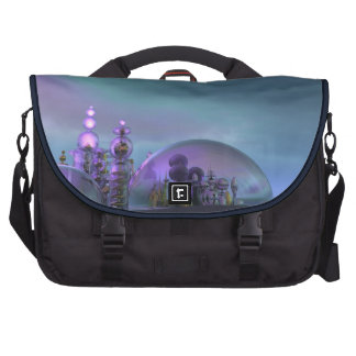 City of Glass Gold and Silver V3 Computer Bag