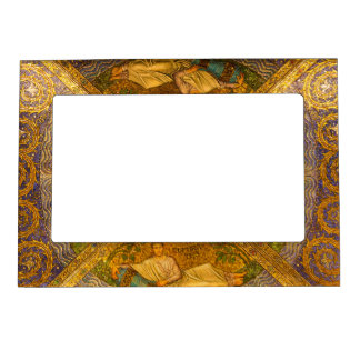 City of God Neo Byzantine mosaic cathedral ceiling Magnetic Photo Frame