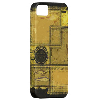 City of Gold Abstract Art iPhone Case iPhone 5 Cover