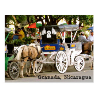City of Granada, Nicaragua Postcard