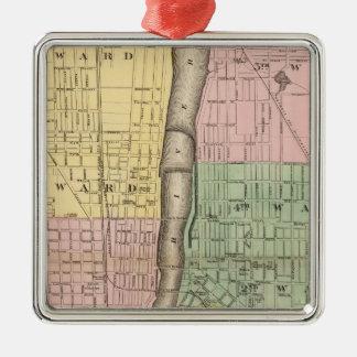 City of Grand Rapids, Kent County Metal Ornament