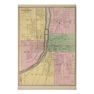 City of Grand Rapids, Kent County Poster