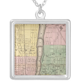 City of Grand Rapids, Kent County Silver Plated Necklace
