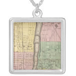 City of Grand Rapids, Kent County Square Pendant Necklace