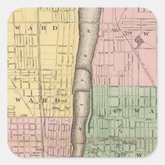 City of Grand Rapids, Kent County Square Sticker